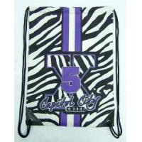 Cheap Promotion Polyester Drawstring Bags for sale