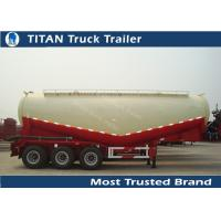 Cheap Powder material transportation cement tanker trailer with volume optional for sale