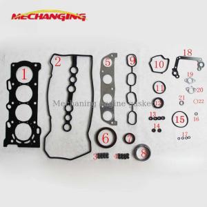 China For TOYOTA COROLLA AVENSIS 1ZZFE Metal Full Set Engine Rebuilding Kits Engine Parts Engine Gasket 04111-22152 50177500 on sale
