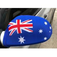 China Digital Printing Country Car Mirror Cover , Decorative Side View Mirror Cover on sale