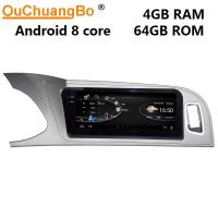 Cheap Ouchuangbo car audio gps navi system for Audi A4 A5 2009-2016 android 9.0 OS Bluetooth music wifi for sale