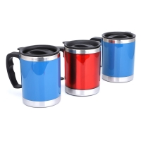 Cheap Plastic 400ml 13 Oz Stainless Steel Insulated Mug for sale