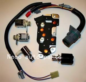 Cheap MASTER SOLENOID KIT W Harness 4L80 4L80E MT1 TCC NEW for sale