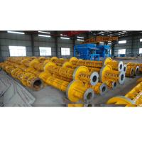 Cheap Electric Prestressed Concrete Poles Welding technology Running Wheel for sale