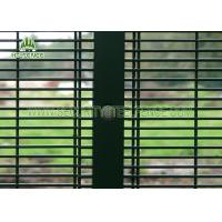 Quality SGS Inspection 358 Security Fencing Panels With 76.2 * 12.7mm Mesh Hole wholesale