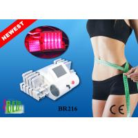 Cheap 4 Wavelength Lipolaser Laser Lipolysis Machine With Air Cooling System / Laser Fat Removal Machine wholesale