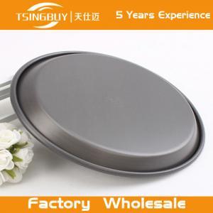 Cheap Teflon Platinum Commercial Grade Baking Tray-Non stick Teflon Coated Pizza Pan for bakeware for sale