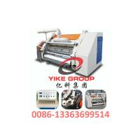 Cheap Single Faced Corrugated Carton Machine 1400-1800mm Width Hard Chrome Material for sale