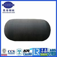 Cheap Pneumatic Rubber Fender with chain-net-Aohai Marine Fittings Co., Ltd for sale