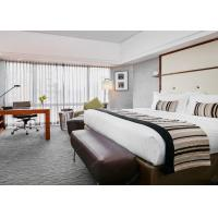 Quality Solid Wood Hotel Bedroom Furniture Sets Laminated Particle Board wholesale