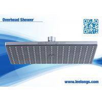 Buy cheap Thin Large Overhead Shower Heads With Good Pressure 1 Function 25*17.5cm from Wholesalers