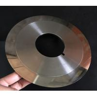 Cheap Customized Cloth Cutting Knife , Slitting Carbon Paper Machine Round Cutting Blades for sale
