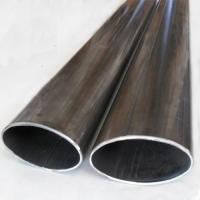 Cheap elliptical/oval steel tube profile made in China supplier market for sale
