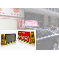 Cheap Waterproof Outdoor Mobile LED Screen Moving Advertising Taxi Top Display P5 IP65 for sale