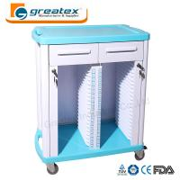 Buy cheap Medical Equipment Medical Case History Trolley Double Rows and Single Row from wholesalers