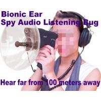 Cheap Bionic Ear Remote Sound Recorder 100 meters headphone Spy Audio Listening Amplifier Bug wholesale