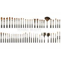 Cheap Beautifully Crafted Private Label Makeup Brushes With Deluxe Goat Sable Hairs for sale
