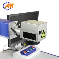 Cheap 20W Desktop Fiber Laser Marking Machine for ring medal watch and metal for sale
