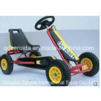 Cheap Yellow Color Kids Go Kart on Sale for sale