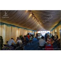 Quality 6M Span Commercial Rain Tents Outdoor Event Canopy With Luxury Decorations wholesale