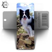 Cheap 2019 New Design 3D Hologram Bookmark Of Cute Dogs Animal With Tassels for sale