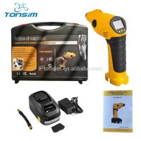 China Portable Tire Air Inflators Wheel Air Compressors Jump Starter Funtion with LED Light on sale