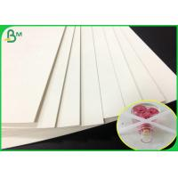 Cheap 0.7mm thickness white color perfume testing paper sheet With absorbent fastly for sale