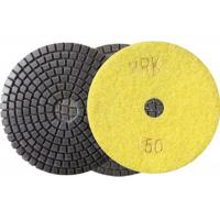 Cheap 100mm 4 Inch Diamond Wet Resin Polishing Pads High Efficient disc for sale
