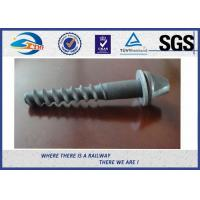 Cheap Galvanized Surface Railway Sleeper Screws Speical Head 35# ISO Approval for sale