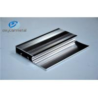 Buy cheap 6463-T5 Polishing Aluminum Extrusion Profiles Products With Silver Color from Wholesalers