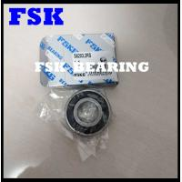 China Stainless Steel S6203 2RS , S6205 2RS Deep Groove Ball Bearing 304 / 316 / 440 on sale