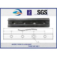 Cheap 4 Holes Railroad Joint Bar Railway Fish Plate For GB 38kg 43kg Rail TB/T 2345-2008 for sale
