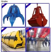 Cheap electric multivalve grab bucket crane for sale