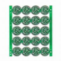 Cheap Double-sided Aluminum Base PCB, 2.0mm Board Thickness, Used for LED Lighting Products for sale