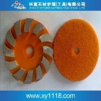 Cheap Metal Concrete Velcro Backing Pads for sale