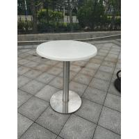Cheap Stainless Steel Table leg Outdoor Furniture Cafe Table Water Proof Table base for sale