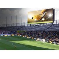 Cheap IP65/IP54 Perimeter Led Screen , P10 SMD3535 Football Stadium Advertising Boards for sale