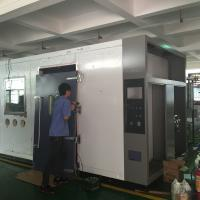 China AC 380 ± 10% 50Hz Stainless Steel Constant Temperature humidity Walk In Climatic Chamber on sale
