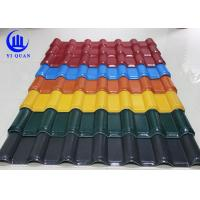 Cheap Unbreakable Waterproof Synthetic Resin  Roof Tile with ASA Coating for sale