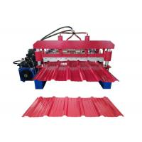 Cheap automatic corrugated iron steel roofing Sheet Metal Roll Forming Machines for sale