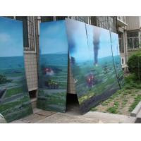 Cheap UV flatbed printer or inkjet printer large size 3d poster large format lenticular advertising poster 3d flip printing for sale