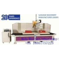China Fully-auto Cutting & Hole Puncher Machine for Luggage Suitcase Production on sale
