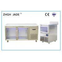 Cheap SS304 Shell LED Blue Light Refrigerator With Digital Temperature Controller for sale
