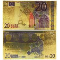 Cheap 20 Euro Gold Banknotes for Collection and Decoration for sale