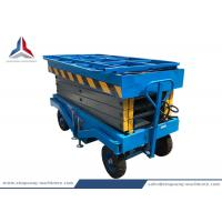 Cheap 10m Working Height Movable Hydraulic Scissor Lift Table for Warehouse for sale