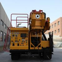 China Track Mounted Mining Drilling Rig With Diamond Core Drill Bits CSD1300G on sale