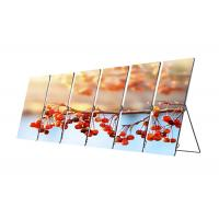 Quality Mirror Front Service LED Display P2.5 Indoor Portable Digital Poster Media wholesale
