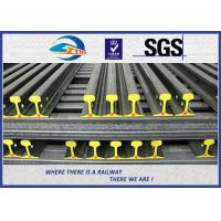 Cheap U71Mn  Railroad Steel Crane Rail / Overhead Crane Rail YB/T5055-93 for sale