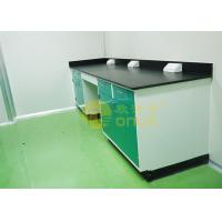 Cheap 1000 * 750mm Chemical Resistant Table Tops With Chemical / Heat Resistant for sale