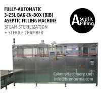 Cheap Fully-automatic 3-25L BIB Aseptic Filling System WEB Type Bag in Box Aseptic Filler for sale